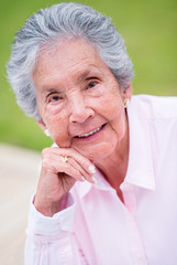 Beautiful retired woman