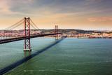Fototapety Bridge of 25th of April, Lisbon