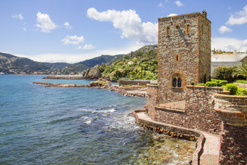 Castle in Mandelieu-la Napoule, French Riviera