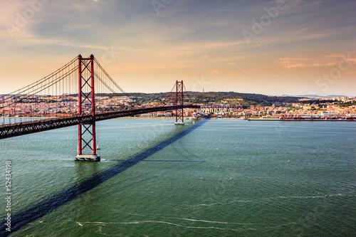 Bridge of 25th of April, Lisbon