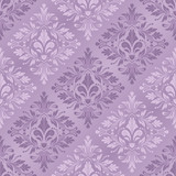 Fototapety vintage seamless pattern with Victorian motif