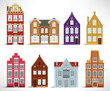 8 old houses