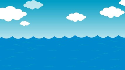 Sea Animated Background