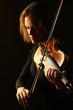 Violin player violinist