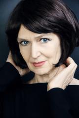 Senior woman 60 years old portrait