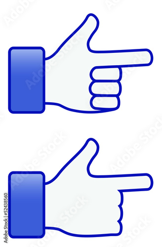 Shooting Hand symbol (vector)