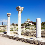 Ancient Greek town Chersonese, Crimea, Ukraine.
