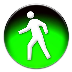 Pedestrian icon illustration