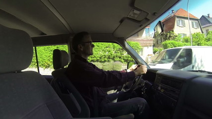 Fahren im Stadtverkehr