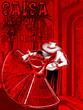 Постер, плакат: latino dance poster