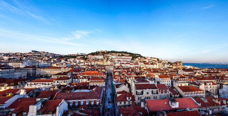 Lisbon panoramic view over Alfama