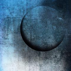 vintage forato blu