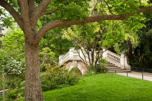 Papiers peints Jardin Parc Monceau à Paris