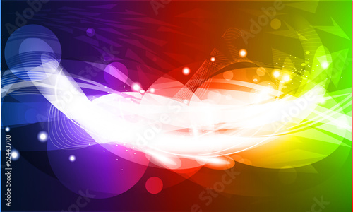 Abstract beautiful background with many brightness. Fantastic ve