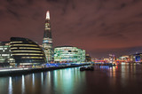The Shard & City Hall by the Thames River