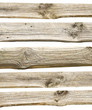 old wood boards isolated on white background