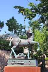 Jardin de la Villa Rufolo à Ravello - Italie