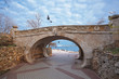 bridge in Sevastopol. Crimea. Ukraine.