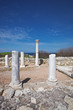 remains of ancient greek city Chersonese. Sevastopol. Crimea.