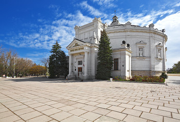 "museum ""Panorama"" in Sevastopol. Crimea."