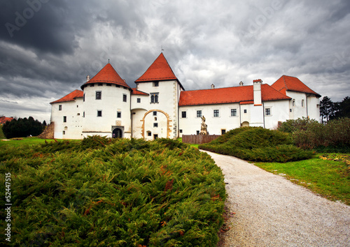 castle in Varazdin. Croatia.