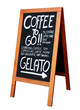 Coffee to go ! Gelato !