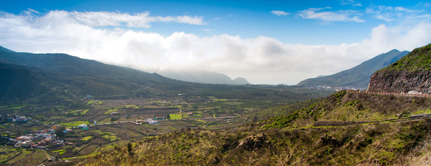 Panorama from Tenerife