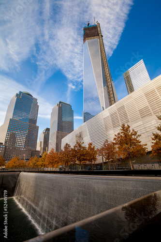 9/11 Memorial at World Trade Center Ground Zero