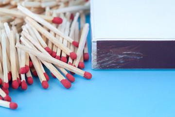 Matches and a matchbox