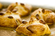 Puff pastries with nuts
