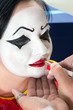 Face paint for pierrot clown
