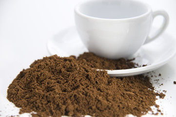 cup and powder