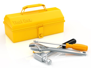 toolbox and tool