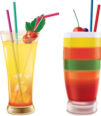 Two coctails