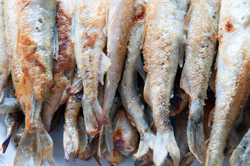 Fried smelt fish II