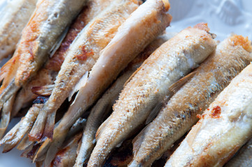 Fried smelt fish I