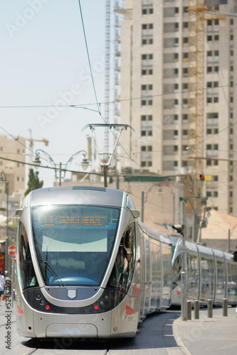Jerusalem Light Rail tram train