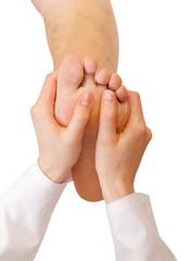 Foot sole massage