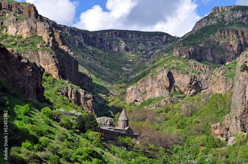 sacred Monastery of Geghard in Armenia