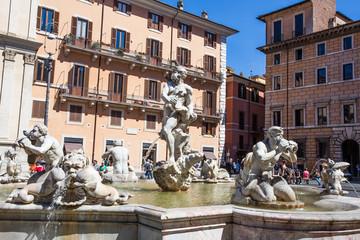 Fontana a Piazza Navona_Roma