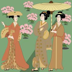 Japan in the garden