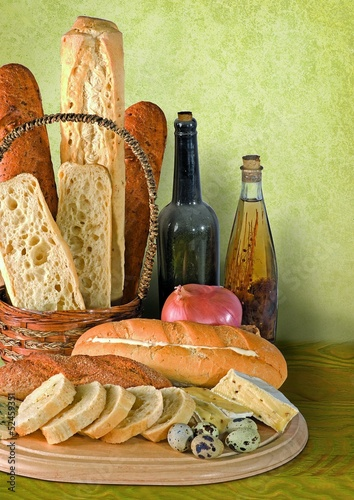 THe bread and wine still