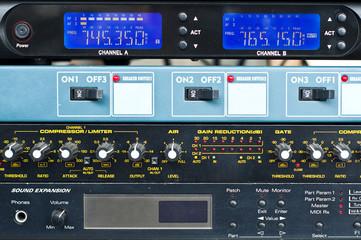 Sound control system.