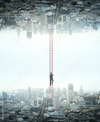 man climbing - 52459714