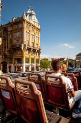 Budapest sightseeing bus