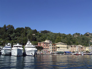 The famous Portofino village