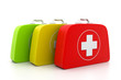 First aid kit.