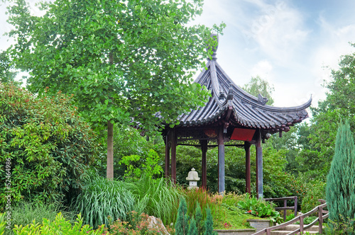 gazebo in the Chinese style