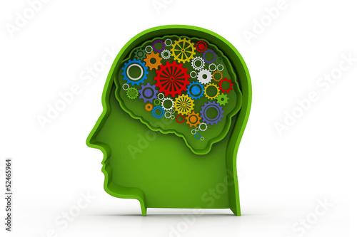 Human mind.