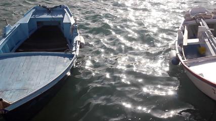 Boats rocking